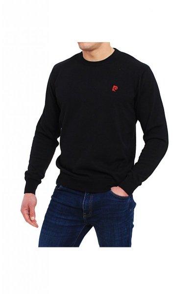 Pierre Cardin R-Logo czarny Sweter
