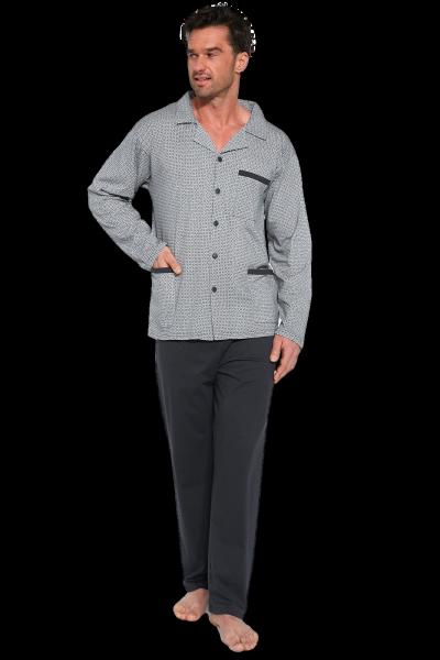 Cornette 114/46 rozpinana piżama męska plus size
