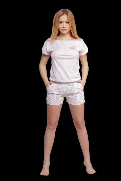 Sensis Kombinezon Groszki piżama damska