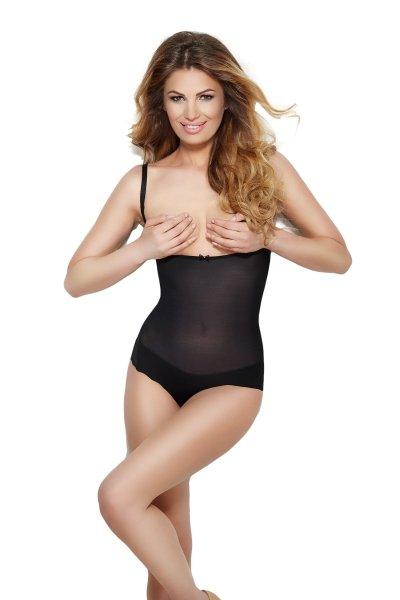 Mitex Glam Czarne body modelujące