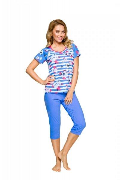 Regina 911 Malinowa piżama damska