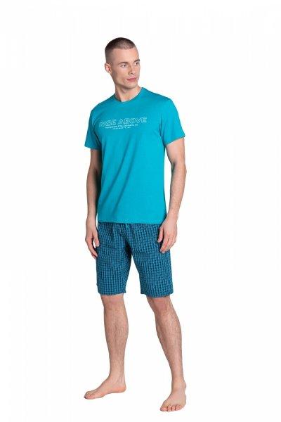 Henderson Dojo 38883-69X Turkusowa piżama męska