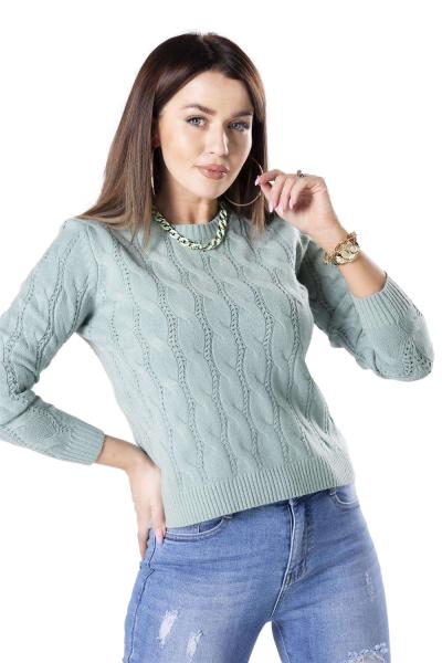 Vittoria Ventini Ramona M83049 Mint sweter damski