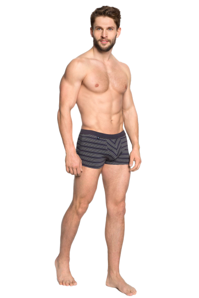 Henderson Digit 34270-90X Wzór: zielony prążek bokserki męskie