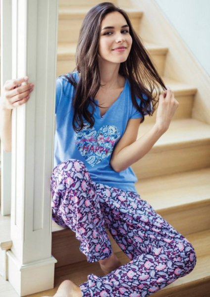Key Amanda LHS 586 piżama damska