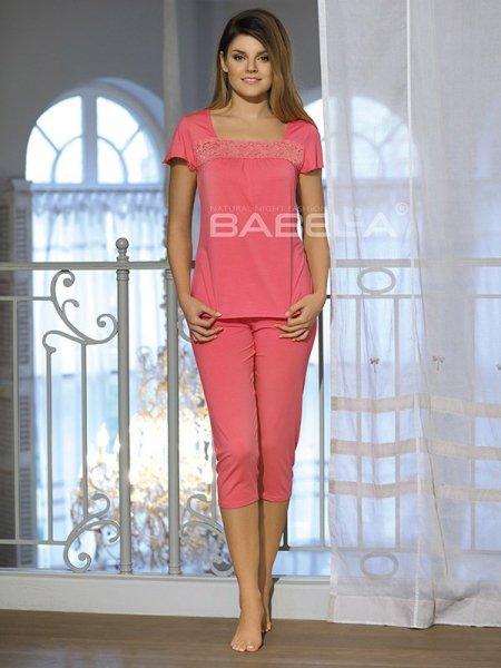 Babella Delfina Koralowa piżama damska