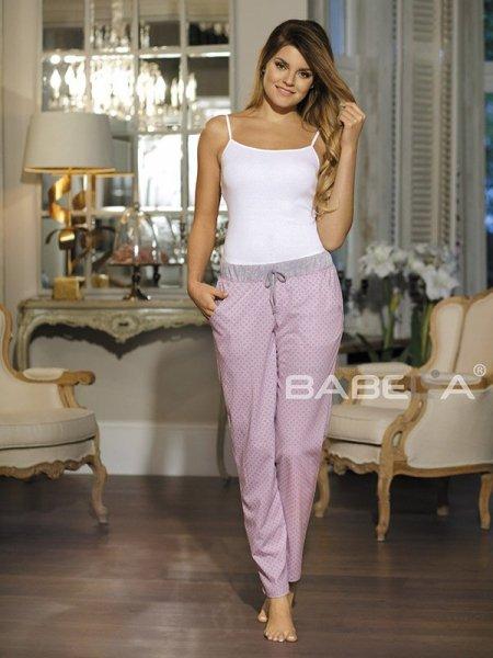 Babella Amelia 3080-2 Różowe spodnie