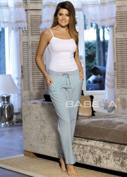 Babella Amelia 3080-1 Miętowe spodnie