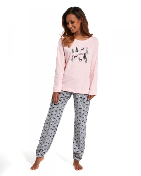 Cornette It's snowing 627/132 piżama damska