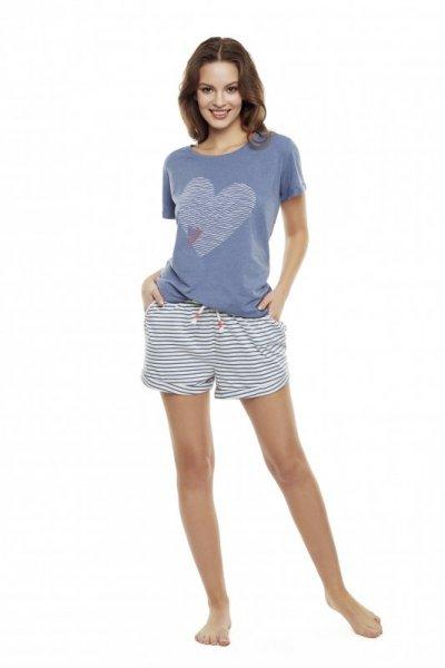 Henderson Diya 35911-59X Niebieska piżama damska