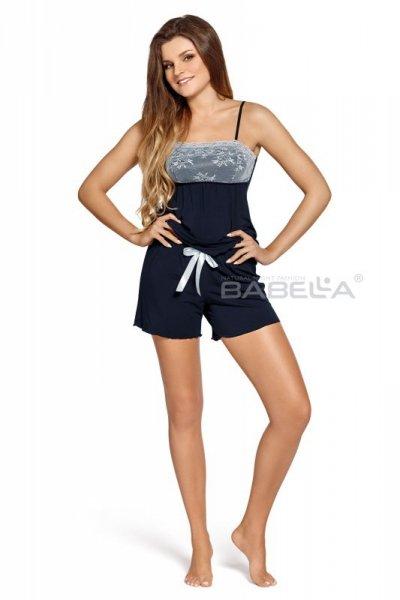Babella Colette Granatowa piżama damska