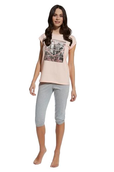 Cornette F&Y 581/22 City of Love piżama młodzieżowa