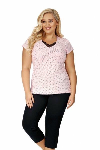 Donna Alice 3/4 Piżama damska Size Plus