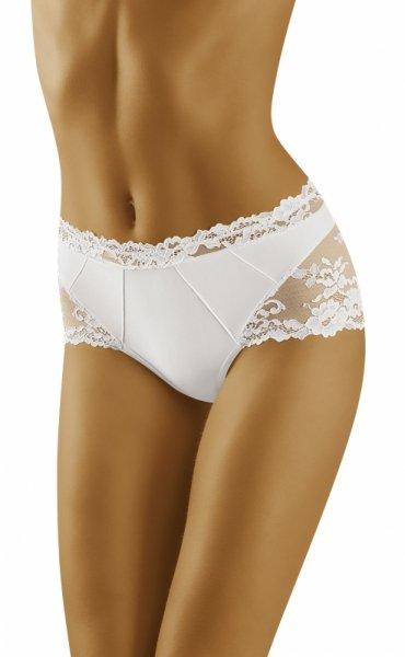 Wol-Bar Luxa Białe figi damskie