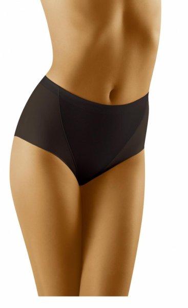 Wol-Bar Minima Czarne figi damskie modelujące