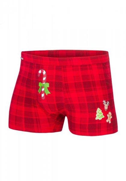 Cornette Candy Cane 017/42 Merry Christmas bokserki męskie