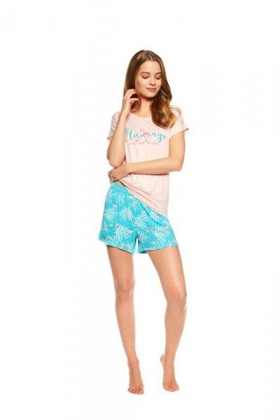 Henderson Ladies Trophy 36789-03X Różowo-miętowa piżama damska