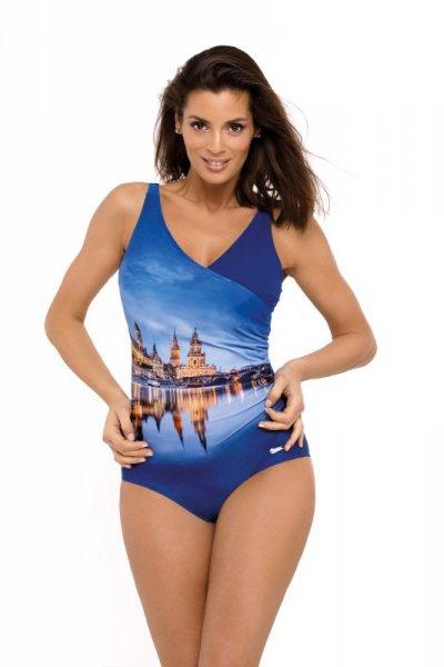 Marko Daniella Blueberry M-555 (2) strój kąpielowy