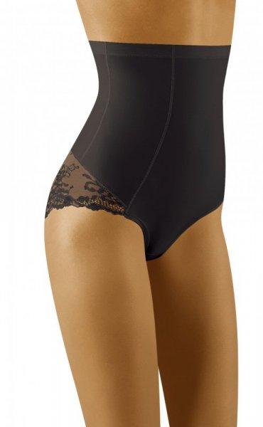 Wol-Bar Valoria Czarne damskie figi modelujące