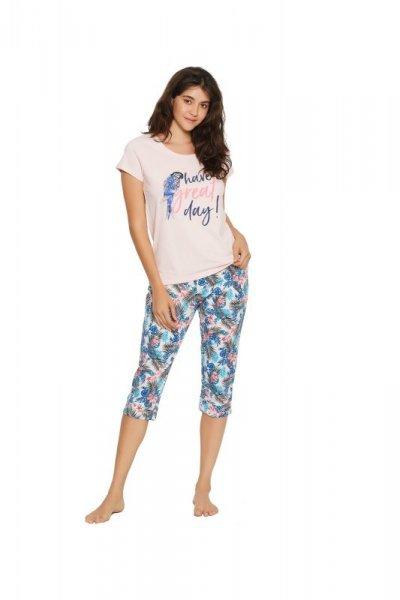 Henderson Ladies Fruity 38052-03X Różowy piżama damska