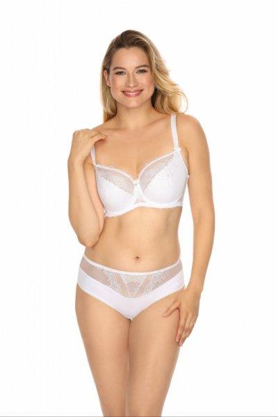 Gaia Adrianna 933P Białe figi damskie