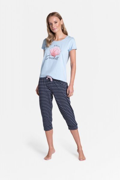 Henderson Ladies Tickle Long 38897-50X piżama damska