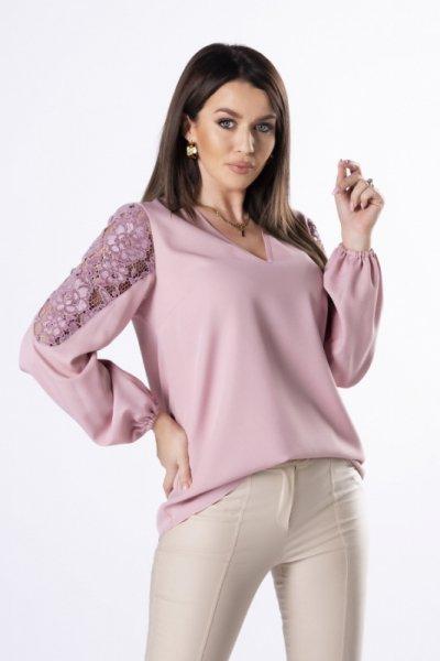 Vittoria Ventini Carla Lace M83028 Powder Pink bluzka damska