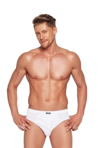 Henderson Henderson 1446 Białe (zestaw 3 sztuk) slipy męskie