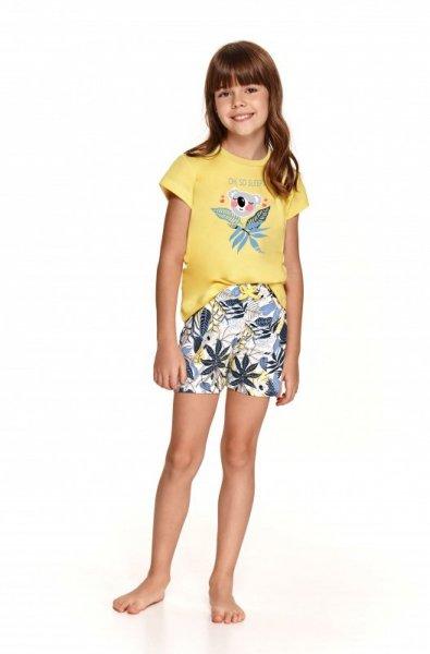 Taro Hania 2201 Żółta piżama dziewczęca