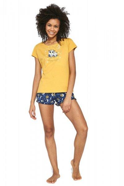 Cornette Owls 520/195 Miodowa piżama damska