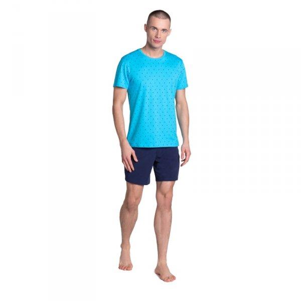 Henderson Leaf 38872 morska piżama męska