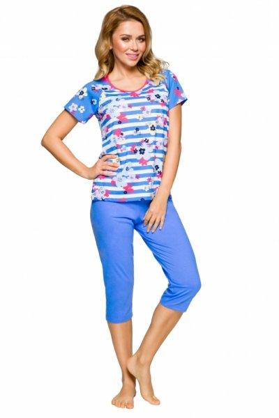 Regina 911 Niebieska Plus piżama damska