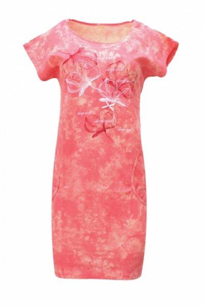 Regina 365 Koralowa koszula nocna damska