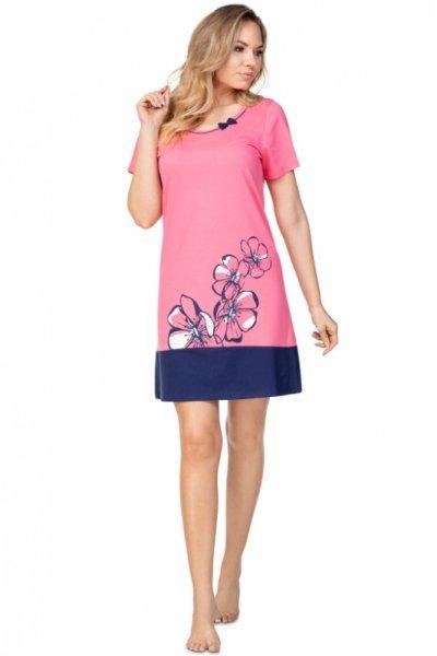 Regina 396 Różowa koszula nocna damska