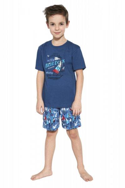Cornette 789/96 Blue dock piżama chłopięca