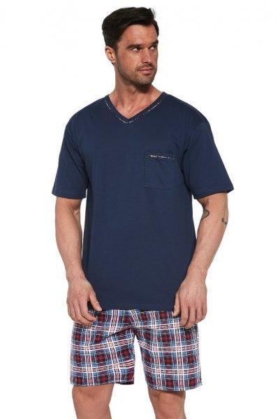 Cornette 329/113 Steve Granatowa piżama męska