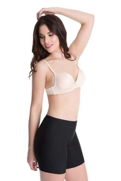 Julimex Comfort Czarne szorty modelujące