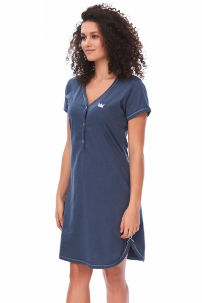Dn-nightwear TCB.9505 damska koszula nocna