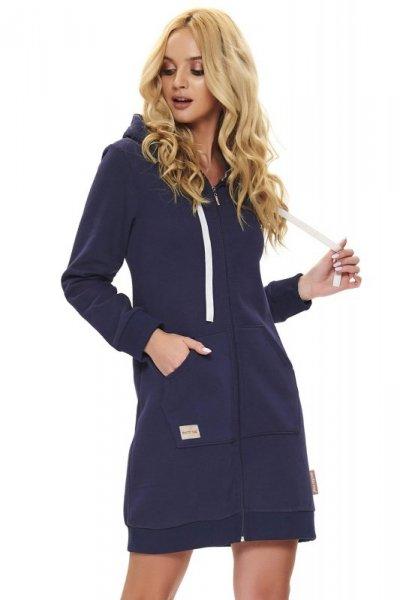 Dn-nightwear SMZ.9756 szlafrok damski