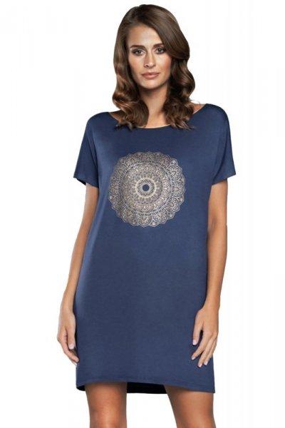 Italian Fashion Mandala kr.r. damska koszula nocna