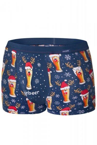 Cornette Merry Christmas Beer 007/53 bokserki męskie