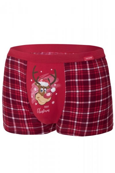 Cornette Merry Christmas Reindeer 2 007/58 bokserki męskie