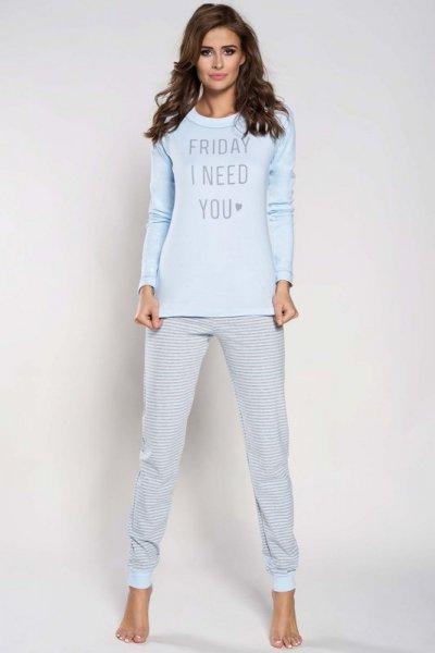 Italian Fashion Edyta dł.r. dł.sp. piżama damska