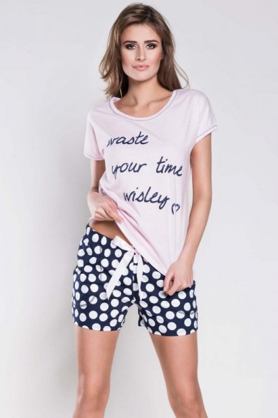 Italian Fashion Marika kr.r. kr.sp. piżama damska