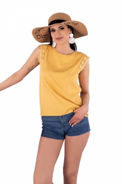 Merribel Arase Mustard bluzka damska