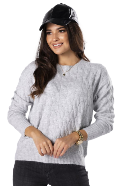 Vittoria Ventini Patricia M83134 Grey sweter damski