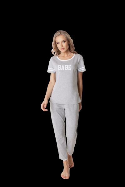Aruelle Babe Long Grey piżama damska