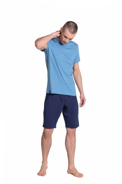 Henderson Duty 38881-95X Niebiesko-Granatowa piżama męska