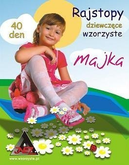 Inez Majka wzorzyste 40 den rajstopy