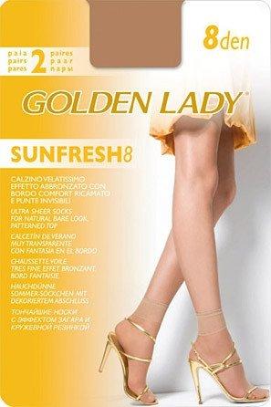Golden Lady Sunfresh 8 den A'2 2-pack skarpetki